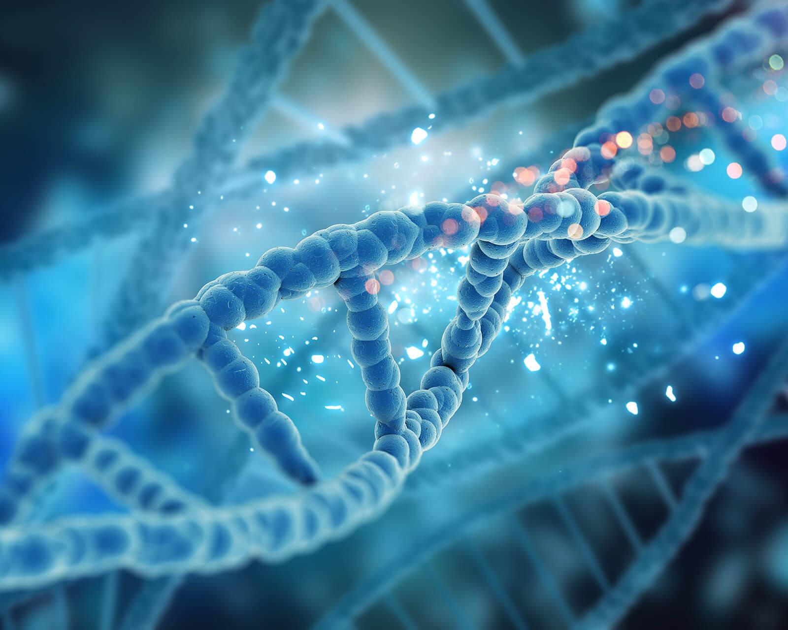 genetic DNA concept